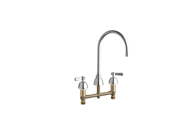 The Concealed Hot and Cold Water Sink Faucet is $360.