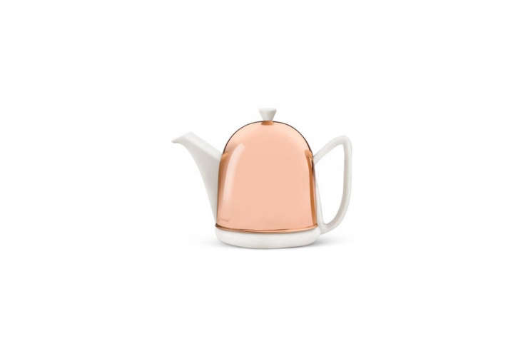 abredemeijer cosy manto teapot is \$94.95 on amazon. new, its copper base is  30