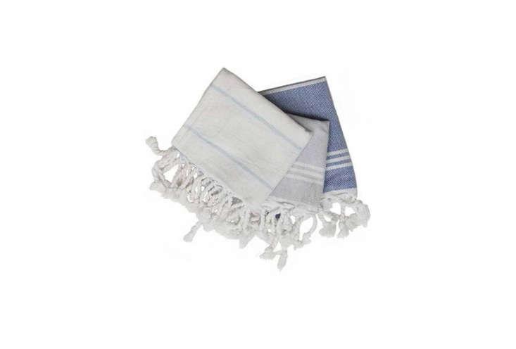 A Set of 3 Turkish Hand Towels are $ at David Morgan.