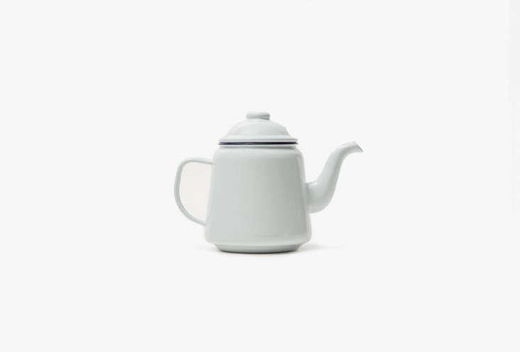 TheFalcon Enamelware Teapot in white is $4loading=