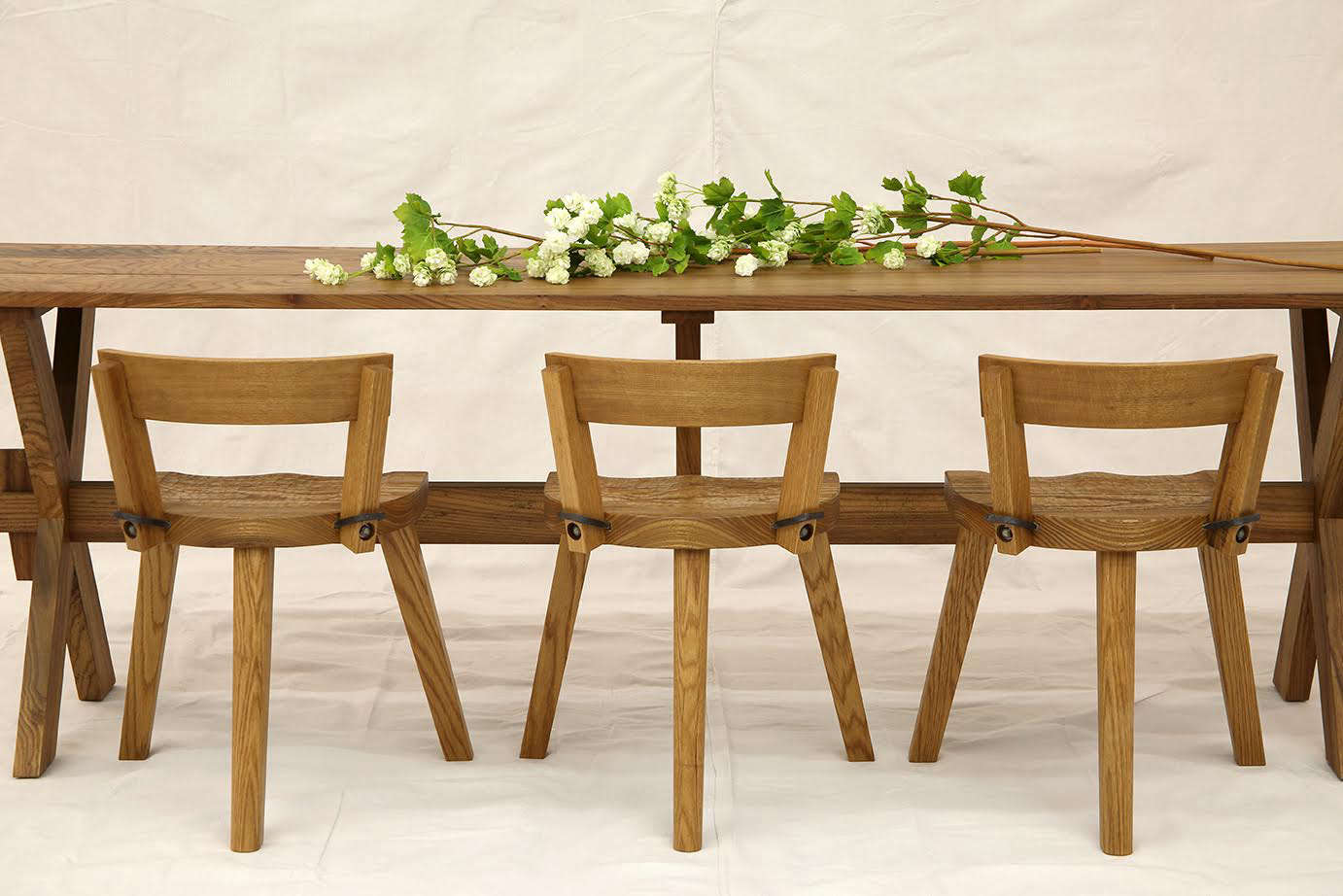 the first version of the marolles chair was a milking stool with a three legged 9