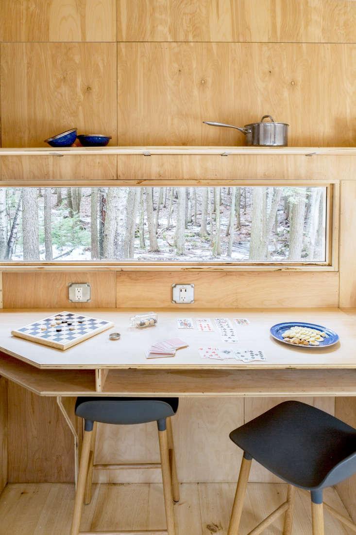 getaway cabin boston interior wood bearwalk 4