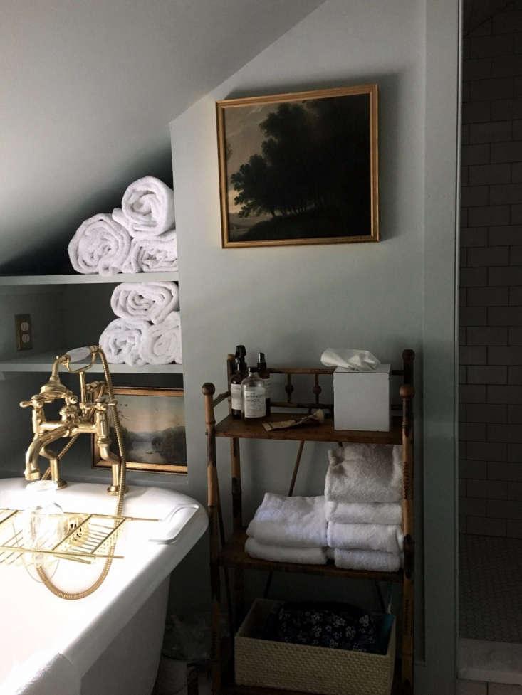 gray bath oil painting clawfoot tub hudson awards