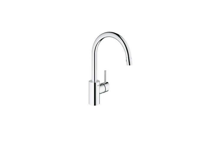 For clients on a budget, Tim Whitehill of Alterstudio Architecture in Austin likes the clean lines of theGrohe Concetto Single Handle Pull Down Faucet, which starts at$