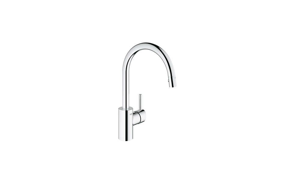 For clients on a budget, Tim Whitehill of Alterstudio Architecture in Austin likes the clean lines of the Grohe Concetto Single Handle Pull Down Faucet, which starts at $