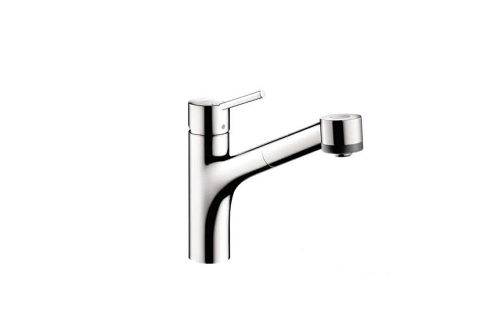 Lauren Rubin of NYC firm Lauren Rubin Architecture always opts for function first in kitchen faucets. &#8