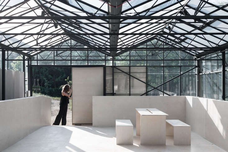 long unused glass houses are transformed into light filled spaces in this week& 9