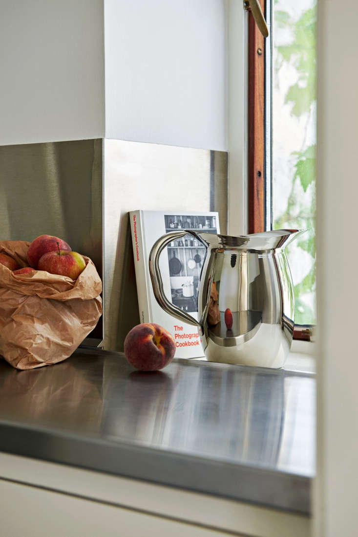 a stainless steel pitcher sourced from india and produced in greater quantities 13