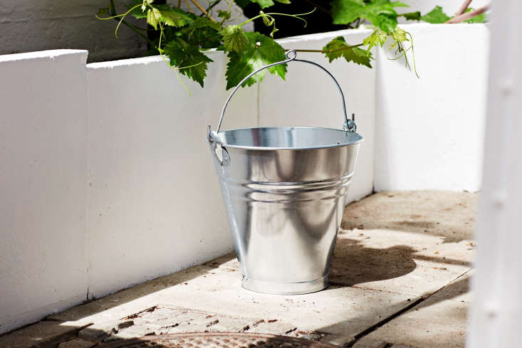 a handmade steel bucket that was found in turkey and produced in collaboration  24