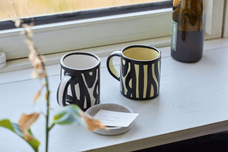 hay woods mugs are designed by richard woods for hay and comes in six colors; \ 23