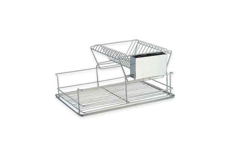 the home basics \2 tier dish drainer is \$\29.99 at bed, bath & beyond. 23