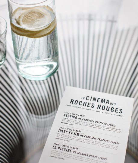 Hotel Les Roches Rouges Cinema Card Detail