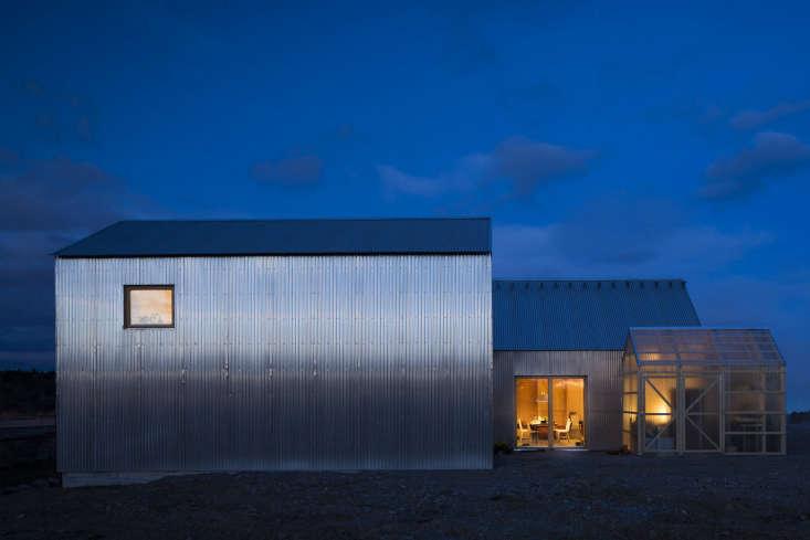 house for mother sweden corrugated aluminum exterior forstberg ling 10