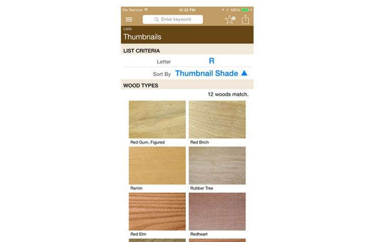Stumble across your dream wood floors at a restaurant? Use the I.D. Wood App for iPhone and iPad($4.99)to help identify the wood and find out if it&#8