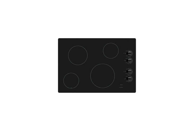 The Ikea Eldig Glass Ceramic Cooktop has four burners for $395.