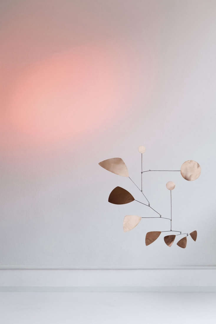 copper leaves mobile, \$\233.30 is a smaller variation of the design, measuring 10