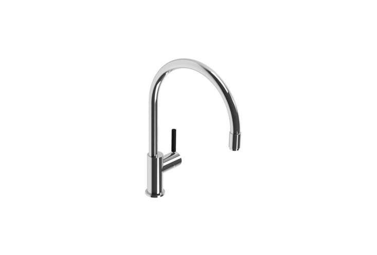 The Lefroy Brooks XO Zu Single-Hole Kitchen Faucet Pull-Out Spray is $loading=