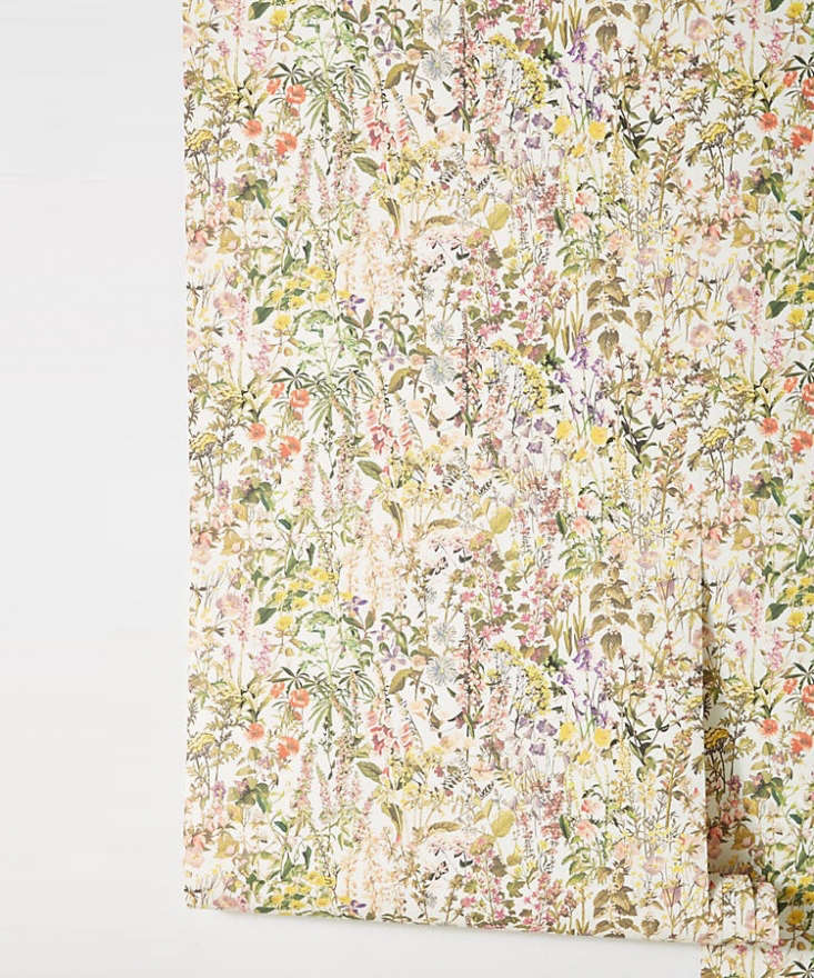 the liberty london charlotte wallpaper; \$\2\28 for 56 square feet at anthropol 9