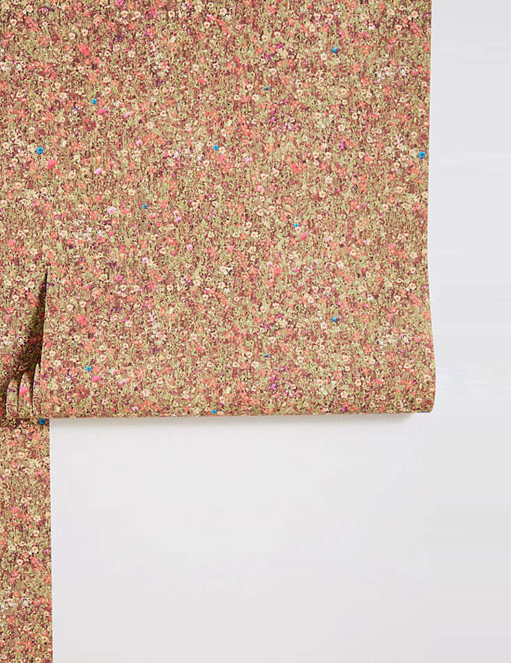 the liberty london mawston meadow wallpaper is one of the more delicate floral  10