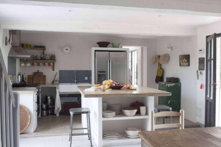 the modern farmhouse kitchen at mas maroc, amanda pays and corbin bernsen's hou 12
