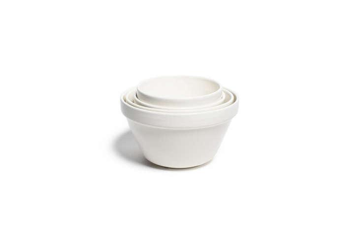 themason cash mixing bowls in white start at \$\10.40 on amazon. 28