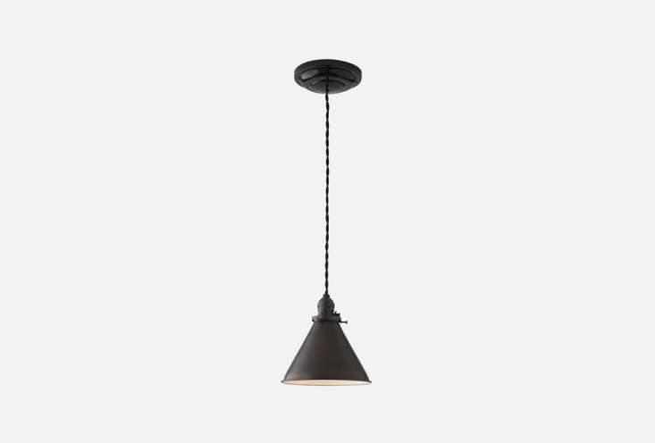 thelowell pendant \2.\25 inch light is available in a black (shown), brass, o 17