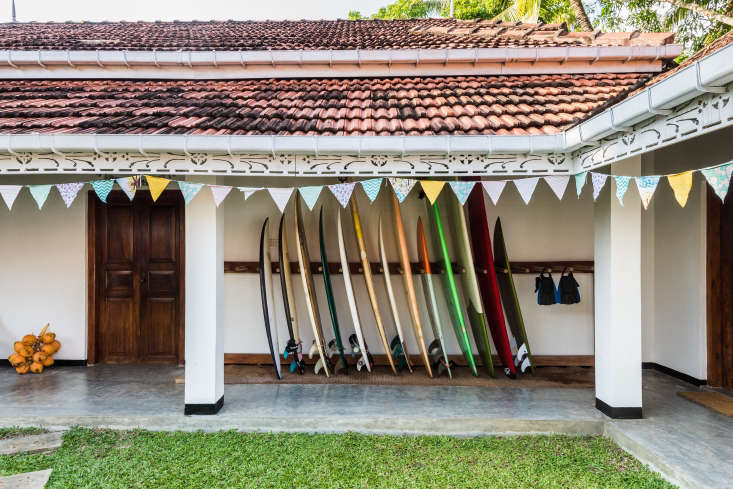 Sunshine Stories is situated in another breezy Dutch colonial villa; this one had been remodeled by the prior owners in a style inspired by the work of the late famed Sri Lankan architect Geoffrey Bawa, and mainly required cosmetic upgrades.