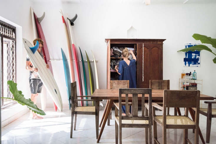 where to store the surfboards? linn and petter&#8\2\17;s quiver of bing boa 13