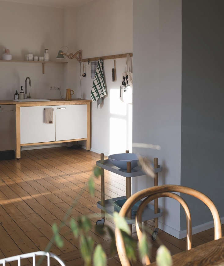 a second ikea värde cabinet is inset with the kitchen sink, and the system is  14