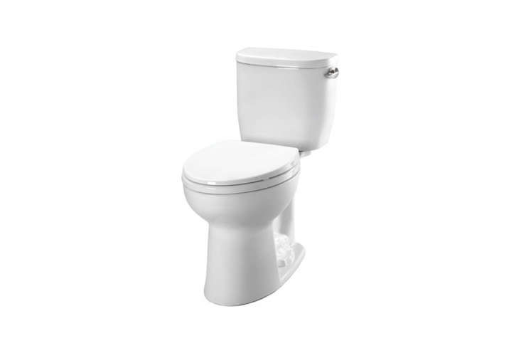 thetoto entrada close coupled toiletwith a round bowl \$\193.40 without the 10