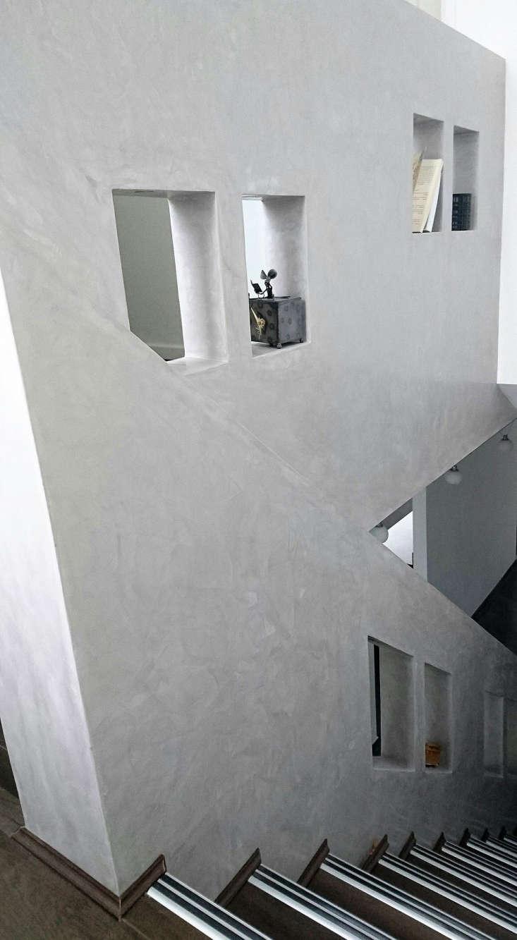uk awards gray plaster stairway
