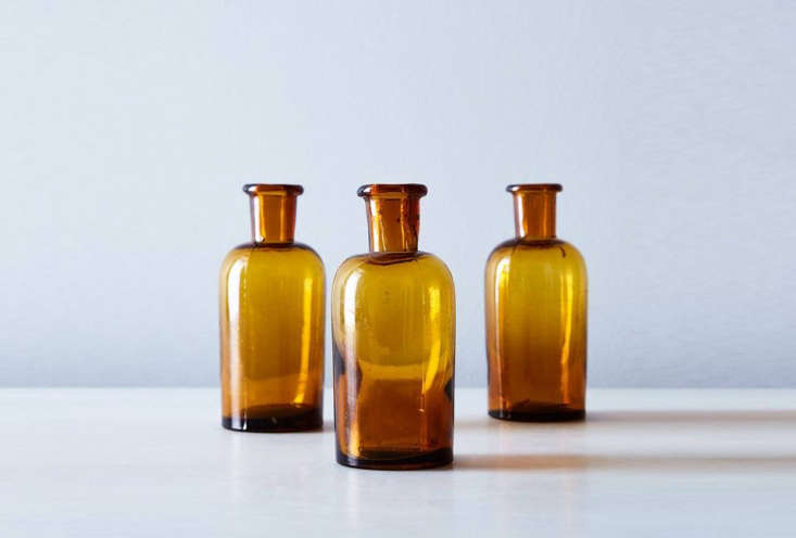 The Vintage French Small Amber Apothecary Jars are $ for a set of three at Food5
