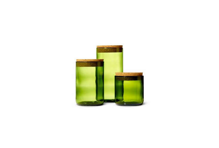The Wine Punts Kelly Green Canisters are made in Colorado from recycled wine bottles; starts at $ for the smallest size at Heath Ceramics.