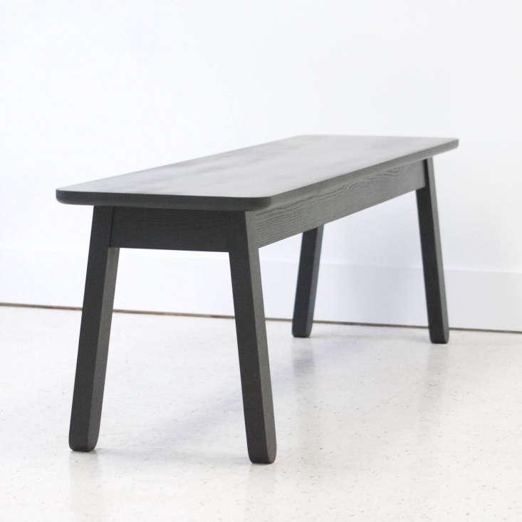 bench black wood kroft furniture canada