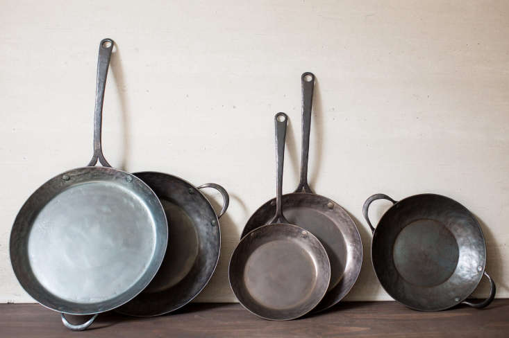 The collection.All of the pans come pre-seasoned.
