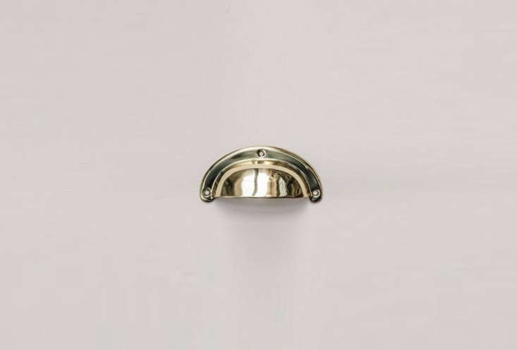 Steal This Look A Piggery Turned Kitchen Custom Larder Included British Standard&#8\2\17;s Brass Drawer Pull is £9 (\$\1\2).