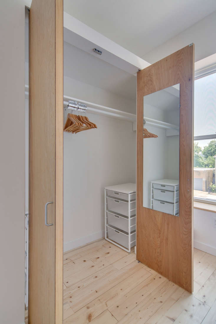 common apartments come equipped with the basics, including simple wooden clothe 12