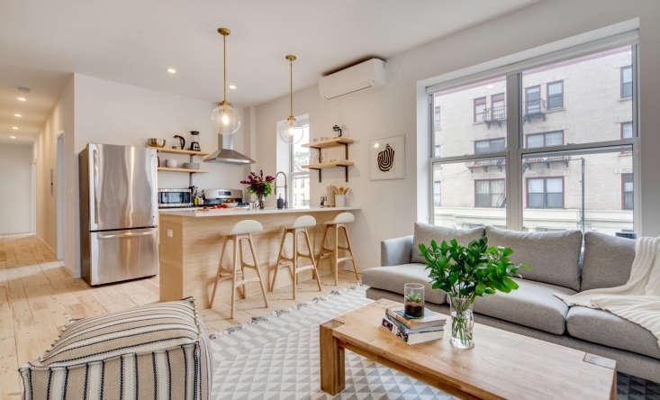 take note for the common room: an open plan kitchen, living, and dining area at 9