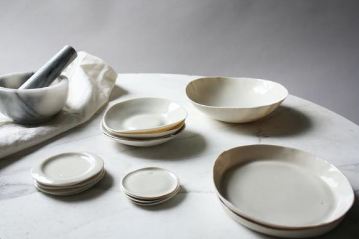 annie stumbled uponconmateria, a collection of thin black and white ceramics  9
