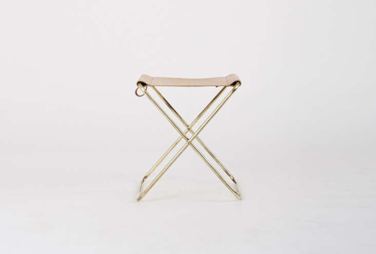 The Douglas & Bec Folding Stool works well for a small weekend bag. It&#8