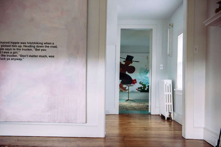 contemporary art in an americana setting: gallery space in a new york farmhouse 19