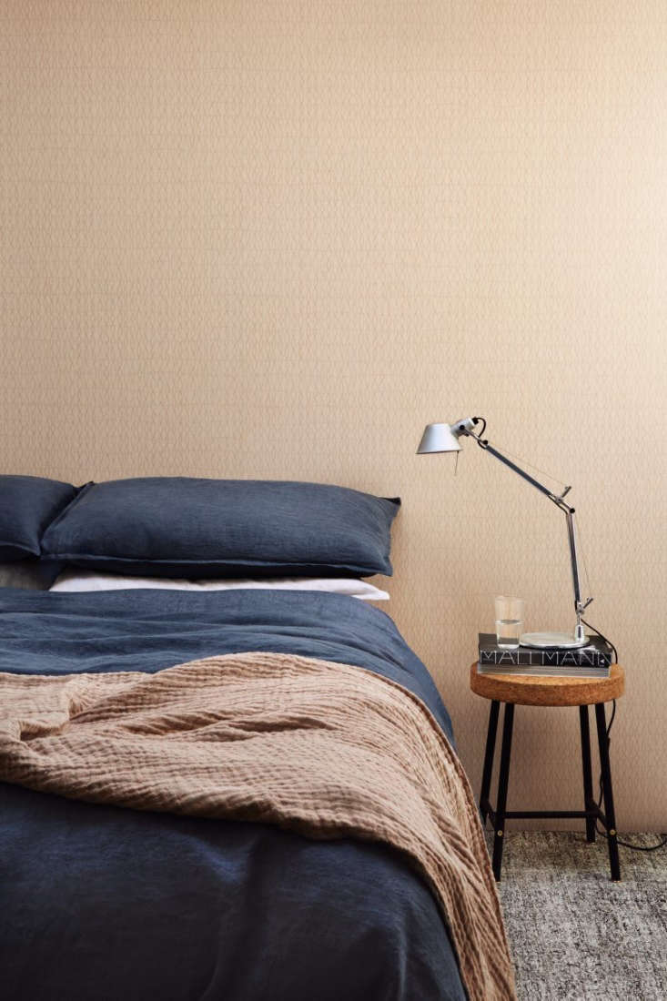 Atmospheres New Wallpaper from Ilse Crawford for Engblad amp Co TheKnit Atmospheres 6\2\23 I Wallpaper has the effect of gentle movement. It&#8\2\17;s available in six colors for \$9\1 per roll at Scandinavian Wallpaper.