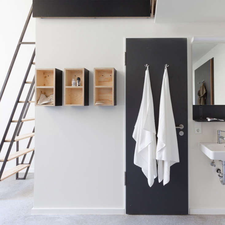 11 HostelStyle Lodges for the New International Nomad &#8\2\20;We reject the standard operating procedure for a student dormitory,&#8\2\2\1; say the team at Macro Sea. In this dorm room corner, they inserted clever wall hung bathroom storage and a metal and wood ladder that leads to a loft bed.