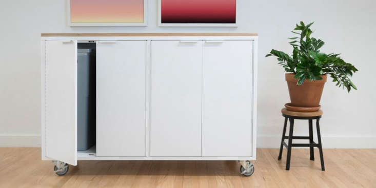 a new addition to the collection, for the kitchen: the recycling credenza (show 15