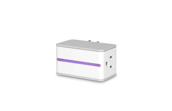 The iDevices Switch ($.95) has a side outlet, which means it protrudes less from the wall, and a nightlight that lets you customize the color. It&#8