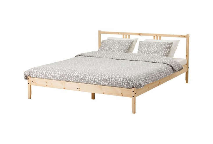thefjellse bed is one of three beds in untreated wood at ikea. it&#8\2\17 10