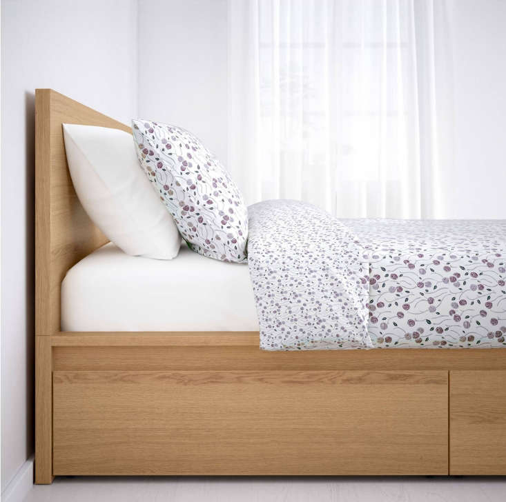 10 Easy Pieces Storage Beds The Ikea Malm High Bed Frame has storage boxes on the side that roll out on casters; \$\269.