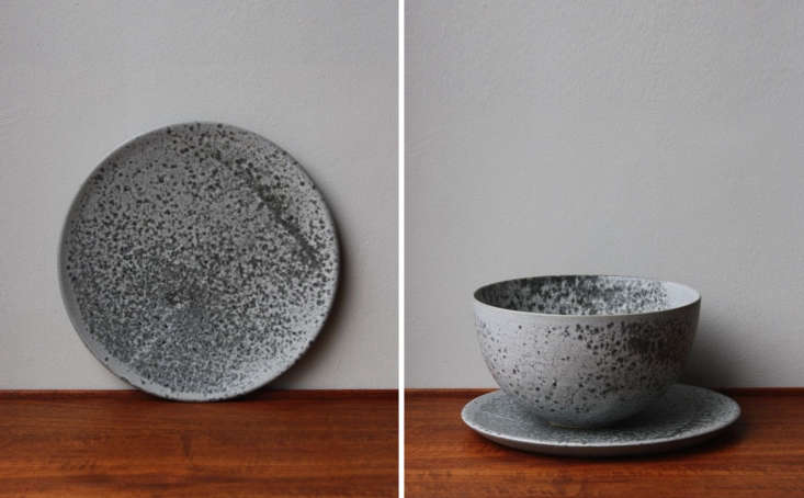 Steal This Look A Piggery Turned Kitchen Custom Larder Included From Danish ceramicists Aage and Kasper Würtz, the couple behind the ceramic dishes at René Redzepi&#8\2\17;s restaurant Noma, the Large Flat Plate 6 Inch Grey Glaze is £60 (\$8\1) at Sigmar. (Sigmar stocks many more ceramics from KH Würtz as well.)