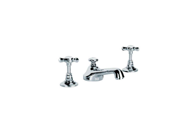 the lefroy brooks classic crosshead cross handles has a pop up waste; \$848.40  10