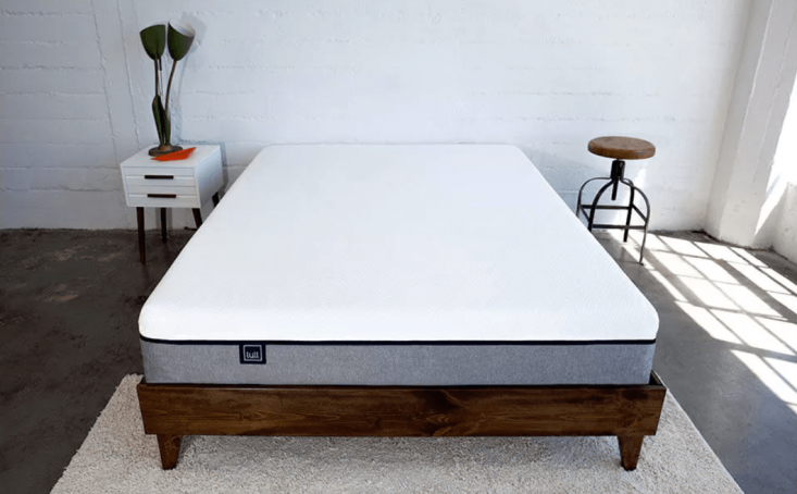 Lull offers gel memory foam mattresses with a 0-day trial period and free shipping. A queen Lull Mattress is $850.